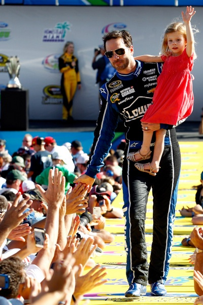 Jimmie Johnson lets his actions do the talking....and he's the real deal, now a six-time champion