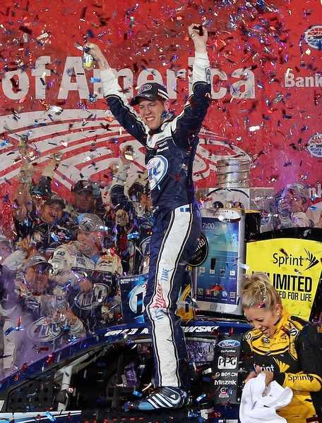 NASCAR gets a shot in the arm, with Brad Keselowski -- brash and popular -- winning Charlotte